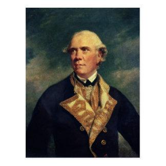 バリントン1779年海軍大将 ポストカード