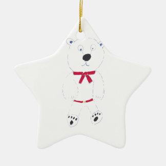 バリーの星のクリスマスツリーの装飾 セラミックオーナメント