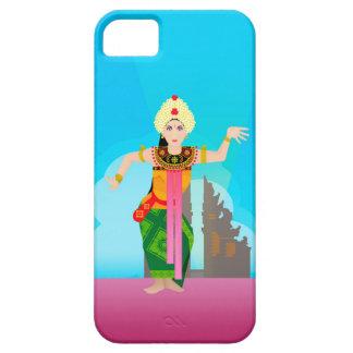バリ島のダンサーのベクトル iPhone SE/5/5s ケース