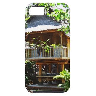 バリ島の典型的なbungaloo iPhone SE/5/5s ケース
