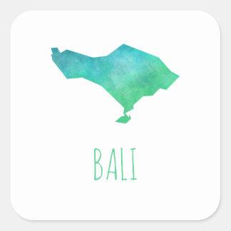 バリ島の地図 スクエアシール