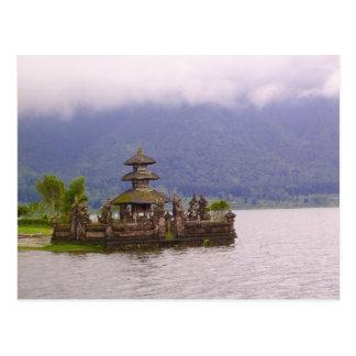 バリ島の場面 ポストカード