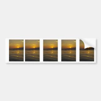 バリ島の島の日の出 バンパーステッカー