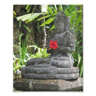 バリ島の彫像の写真のプリント フォトプリント