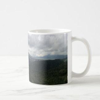 バリ島の火山 コーヒーマグカップ