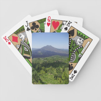 バリ島の火山 バイスクルトランプ