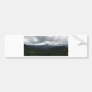 バリ島の火山 バンパーステッカー