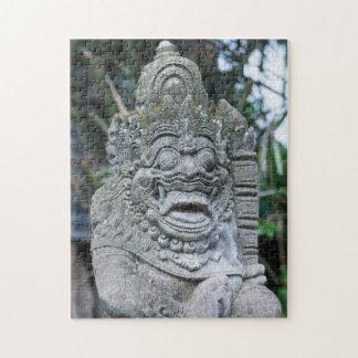バリ島の神の彫像 ジグソーパズル