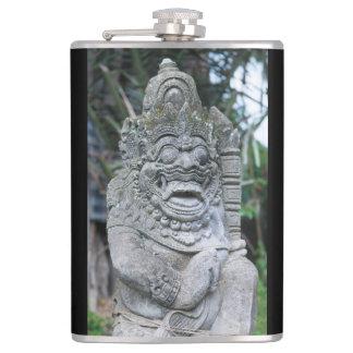 バリ島の神の彫像 フラスク