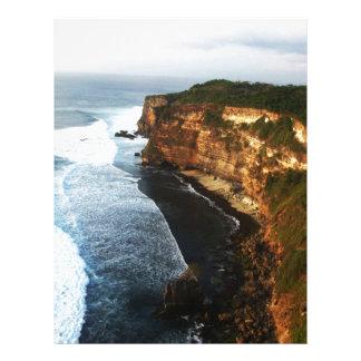 バリ島の障壁 レターヘッド