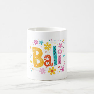 バリ島インドネシア コーヒーマグカップ
