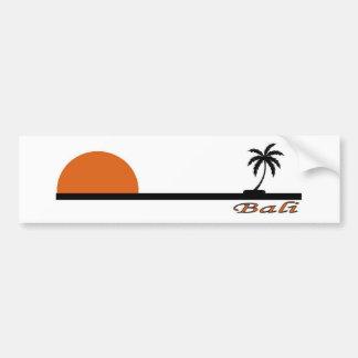 バリ島、インドネシア バンパーステッカー