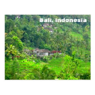 バリ島、インドネシア ポストカード