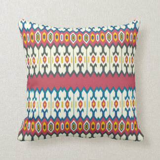 バルカン半島の民芸の菱形パターン枕 クッション