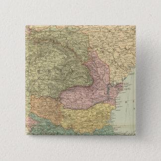 バルカン半島2 5.1CM 正方形バッジ