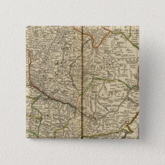 バルカン半島3 5.1CM 正方形バッジ