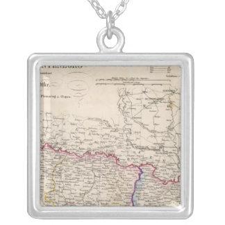 バルカン半島、トルコ、ボスニア シルバープレートネックレス