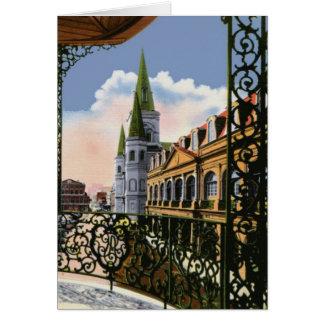 バルコニーからのカテドラル カード