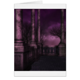 バルコニーの夜 カード