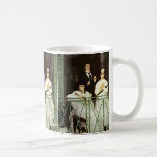 バルコニー-エドワールManet コーヒーマグカップ