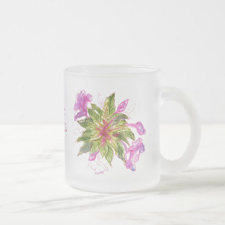 バルサムの花束 フロストグラスマグカップ