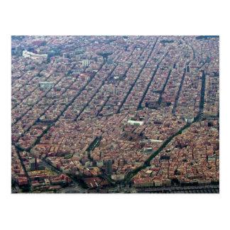バルセロナのアンテナ ポストカード