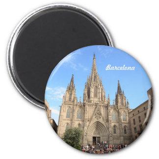 バルセロナのカテドラル マグネット