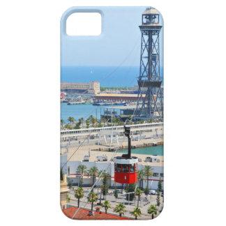 バルセロナのケーブル・カー(ケーブルカー) iPhone SE/5/5s ケース