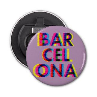 バルセロナのサイケデリックな故障のカスタマイズ可能な色 栓抜き