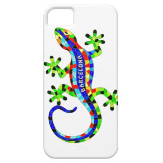 バルセロナのトカゲ iPhone SE/5/5s ケース