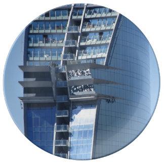 バルセロナのモダンなホテル 磁器プレート