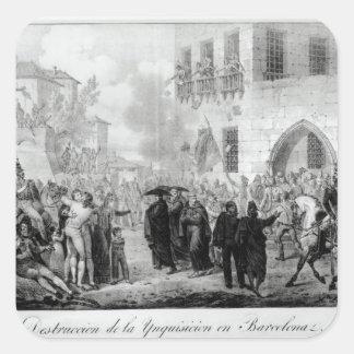 バルセロナの審理の破壊 スクエアシール