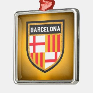 バルセロナの旗 メタルオーナメント