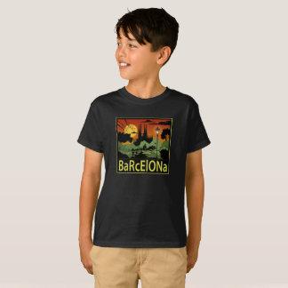 バルセロナの男の子のTシャツ Tシャツ