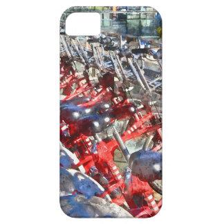 バルセロナの都市自転車 iPhone SE/5/5s ケース