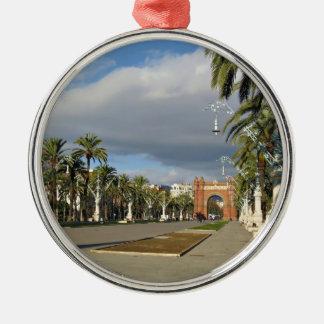 バルセロナアークde Triomf メタルオーナメント