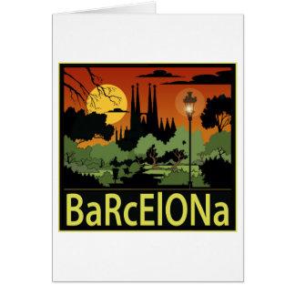バルセロナカード カード