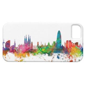 バルセロナスペインのスカイライン iPhone SE/5/5s ケース