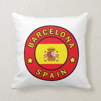 バルセロナスペインの枕 クッション