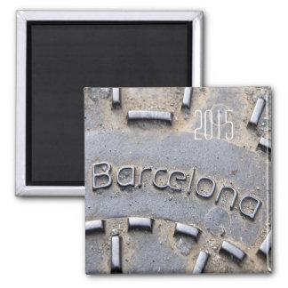 バルセロナスペイン旅行冷蔵庫用マグネットの変更年 マグネット
