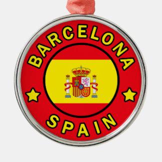 バルセロナスペイン メタルオーナメント