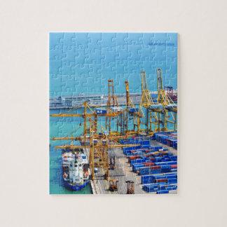 バルセロナ港 ジグソーパズル
