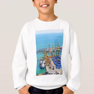 バルセロナ港 スウェットシャツ