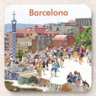 バルセロナ、スペインの公園Guell コースター