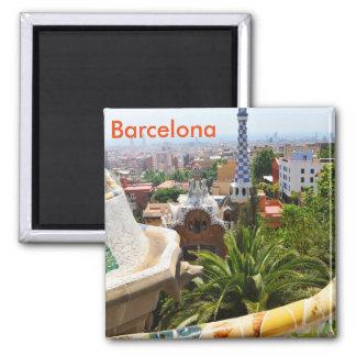 バルセロナ、スペインの公園Guell マグネット