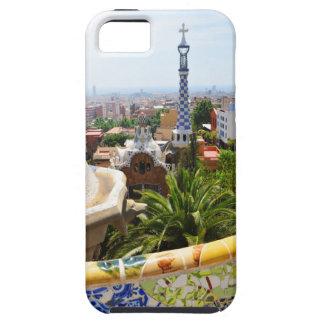 バルセロナ、スペインの公園Guell iPhone SE/5/5s ケース