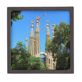 バルセロナ、スペインのSagrada Familia教会 ギフトボックス