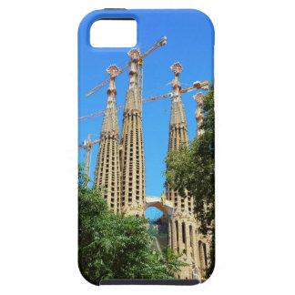 バルセロナ、スペインのSagrada Familia教会 iPhone SE/5/5s ケース