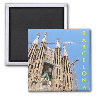 バルセロナ、スペインのSagrada Familia マグネット