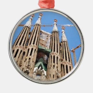 バルセロナ、スペインのSagrada Familia メタルオーナメント